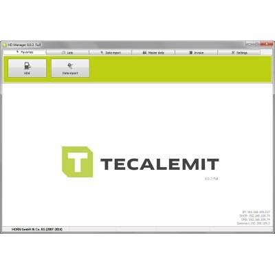 TECALEMIT HDM  8 PC 数据管理软件