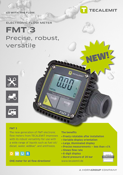 PCL FMT 3 Electronic Flow Meter