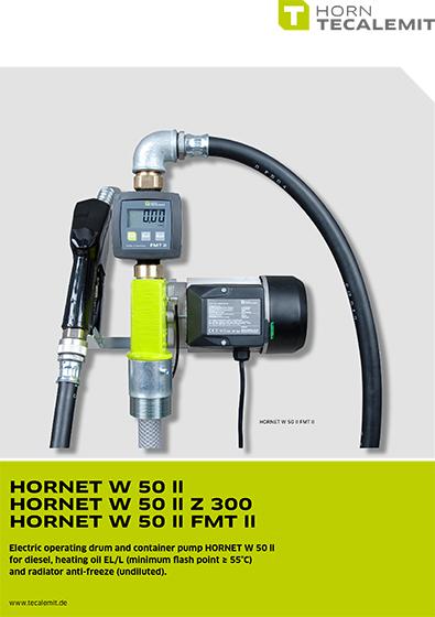 PCL HORNET W 50 ll Pump Kits