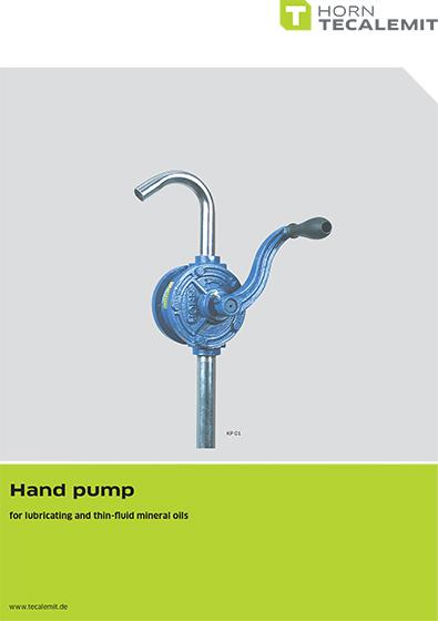 PCL KP 01 Hand Pump