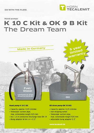 PCL K 10 C Kit & OK 9 B Kit