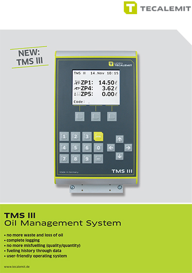 PCL TMS lll Oil Management System