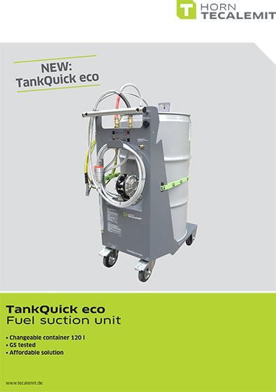 PCL TankQuick eco Flyer