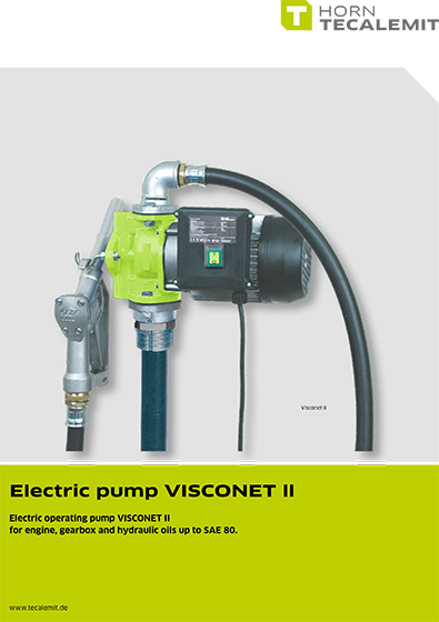 PCL Electric Pump Visconet II
