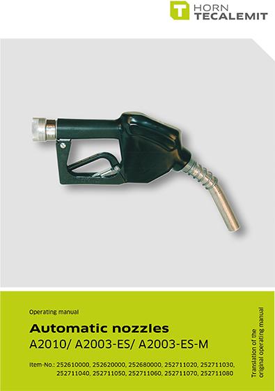 PCL Automatic Nozzles A2010/ A2003-ES / A2003-ES-M