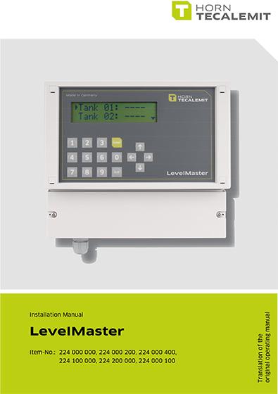 PCL Automatic Tank Gauge LevelMaster (Installation)