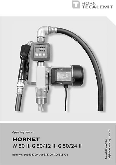 PCL HORNET W 50 II, G 50/12 II, G 50/24 II