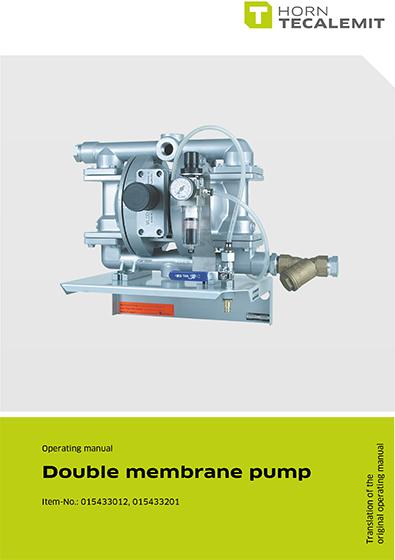 PCL Double Membrane Pump