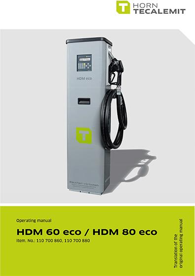 PCL HDM 60 eco / HDM 80 eco