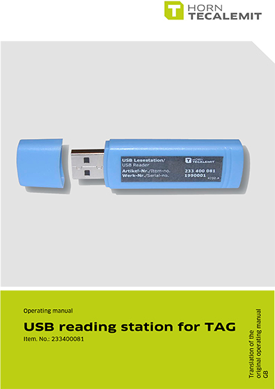 PCL USB reading station for TAG