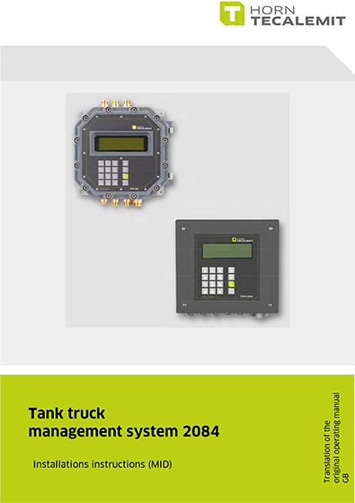 PCL Tank truck management system 2084 (Installation)