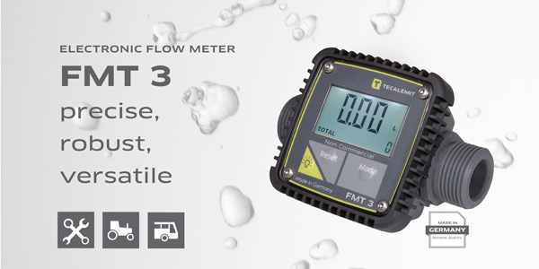 FMT 3 an electronic volumetric flow meter with a unique range of functions