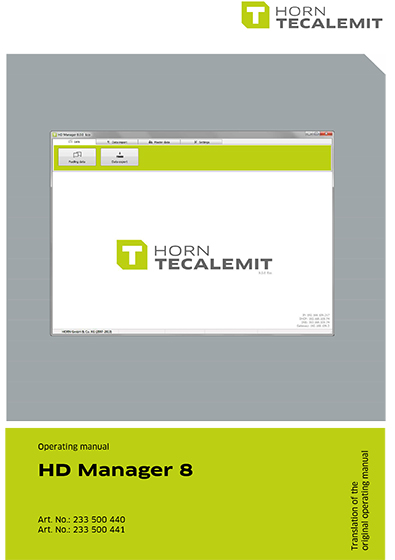 PCL HD Manager 8