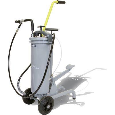 TECALEMIT 013 112 013 带空气泵的脚踏式压力机,用于手动润滑